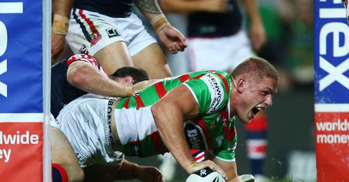 Ex-Bradford prop George Burgess has been a huge hit with the Rabbitohs