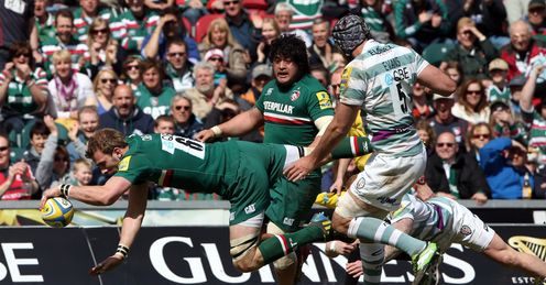 Tom Croft Leicester Tigers Aviva Premiership