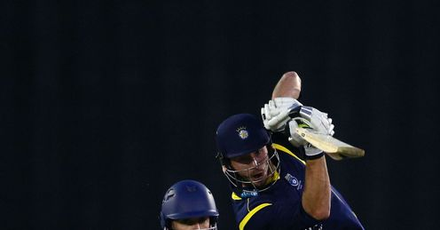 TOURNAMENT JAMES VINCE HAMPSHIRE ESSEX CHELMSFORD YORKSHIRE BANK 40