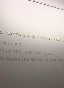 Lions visit Australian War Memorial