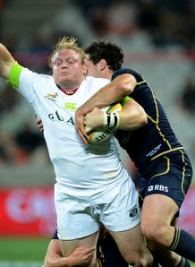 Adriaan Strauss South Africa Scotland 2013