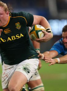 Adriaan Strauss of South Africa v Italy