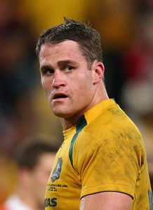 Australia v Lions James Horwill