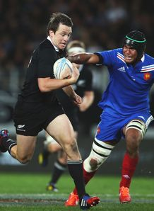 Ben Simth All Blacks break first test New Zealand France 2013