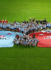 Big Waratahs and Lions shirts