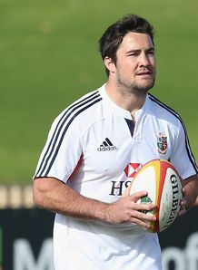 Brad Barritt Lions training 2013