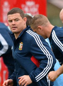 Brian O Driscoll British and Irish Lions training 2013