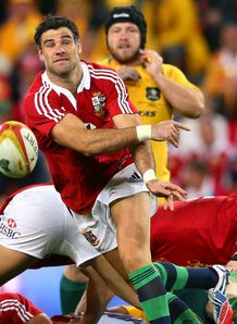 British and Irish Lions  Mike Phillips v Australia first Test