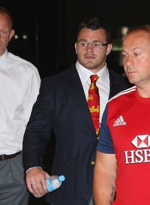 British and Irish Lions 2013  Cian Healy disciplinary hearing