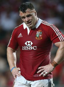British and Irish Lions 2013 - Cian Healy v Barbarians