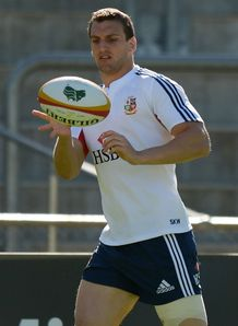 British and Irish Lions 2013  Sam Warburton training