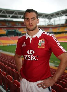 British and Irish Lions 2013  Sam Warburton Suncorp Stadium
