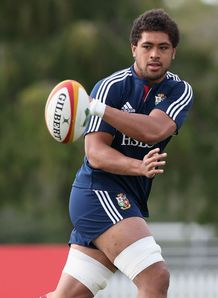 British and Irish Lions 2013  Toby Faletau