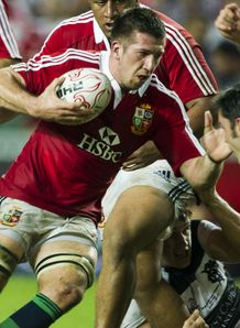 British and Irish Lions v Barbarians Justin Tipuric