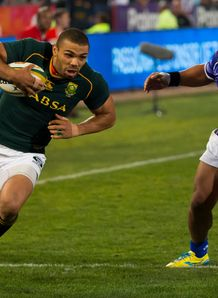 Bryan Habana from South Africa v Samoa