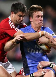 Conor Murray tackling Dane Haylett Petty
