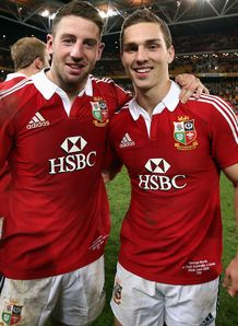 SKY_MOBILE Alex Cuthbert George North - Lions 1st Test