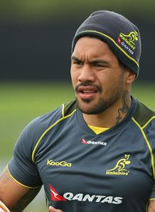 Digby Ioane Wallabies training 2013