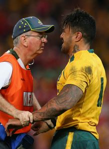 Digby Ioane getting treatment for injury
