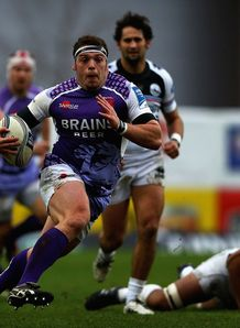 SKY_MOBILE Greg Bateman Exeter Chiefs pictured playing for London Welsh