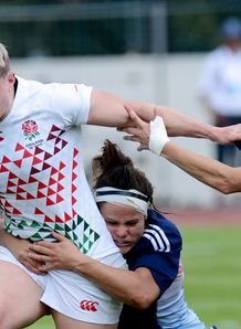 Heather Fisher for England Sevens