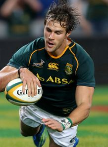 JJ Engelbrecht scoring for the Springboks