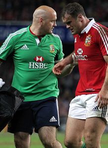 SKY_MOBILE Jamie Roberts British Irish Lions v Waratahs