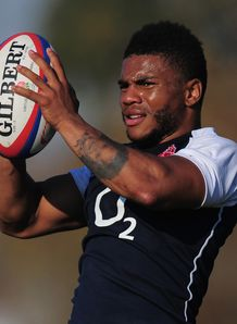 Kyle Eastmond England training 2013
