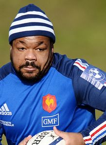 Mathieu Bastareaud France training 2013