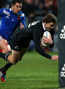 New Zealand v France Beauden Barrett
