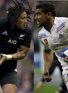 Nonu v Fofana New Zealand v France