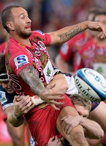 Quade Cooper Reds v Rebels Sr 2013