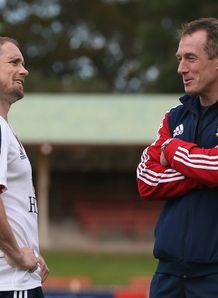 BRITISH IRISH LIONS CAPTAIN'S RUN CANBERRA SHANE WILLIAMS ROB HOWLEY