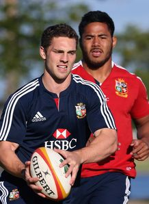 George North Manu Tuilagi Lions