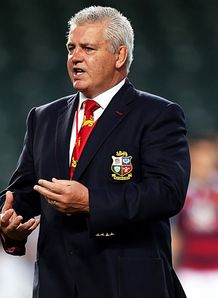 SKY_MOBILE Warren Gatland British and Irish Lions