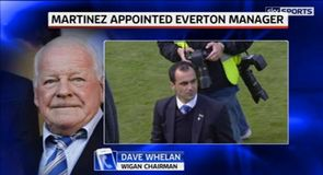 Whelan wishes Martinez well