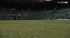 Preparations under way at Wimbledon