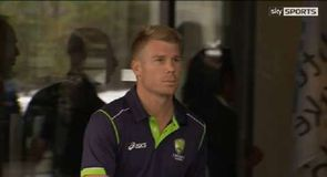 Warner suspended until Ashes