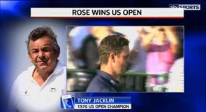 Jacklin: Rose showed character