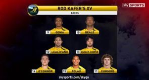 Rod Kafer's Australia XV