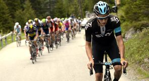Team Sky were full of riding on the final climb on stage seven