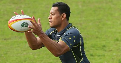 Folau set to start for Wallabies