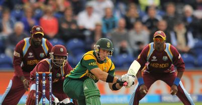 Champions Trophy: South Africa through to semi-finals after rain forces tie against West Indies