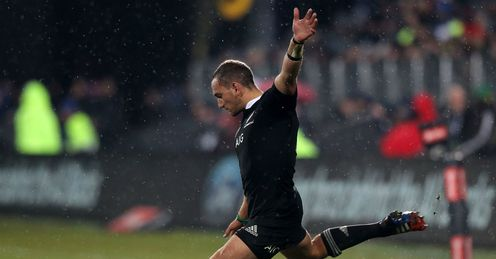 Aaron Cruden penalty New Zealand v France