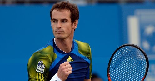 Murray: Returned from injury in style at Queen's