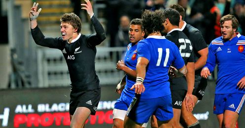 Beauden Barrett - New Zealand v France 3rd Test