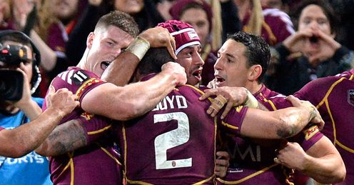 Darius Boyd - Queensland Origin II