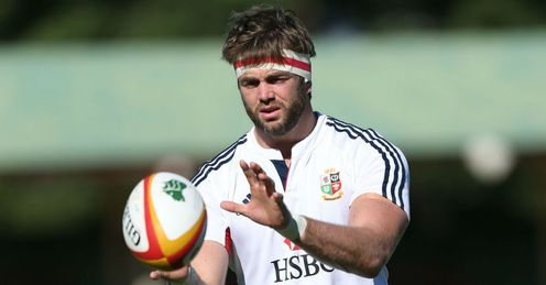 British and Irish Lions  Geoff Parling