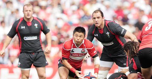 Fumiaki Tanaka Japan v Wales 2013