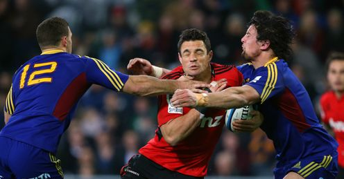 Highlanders Crusaders Dan Carter